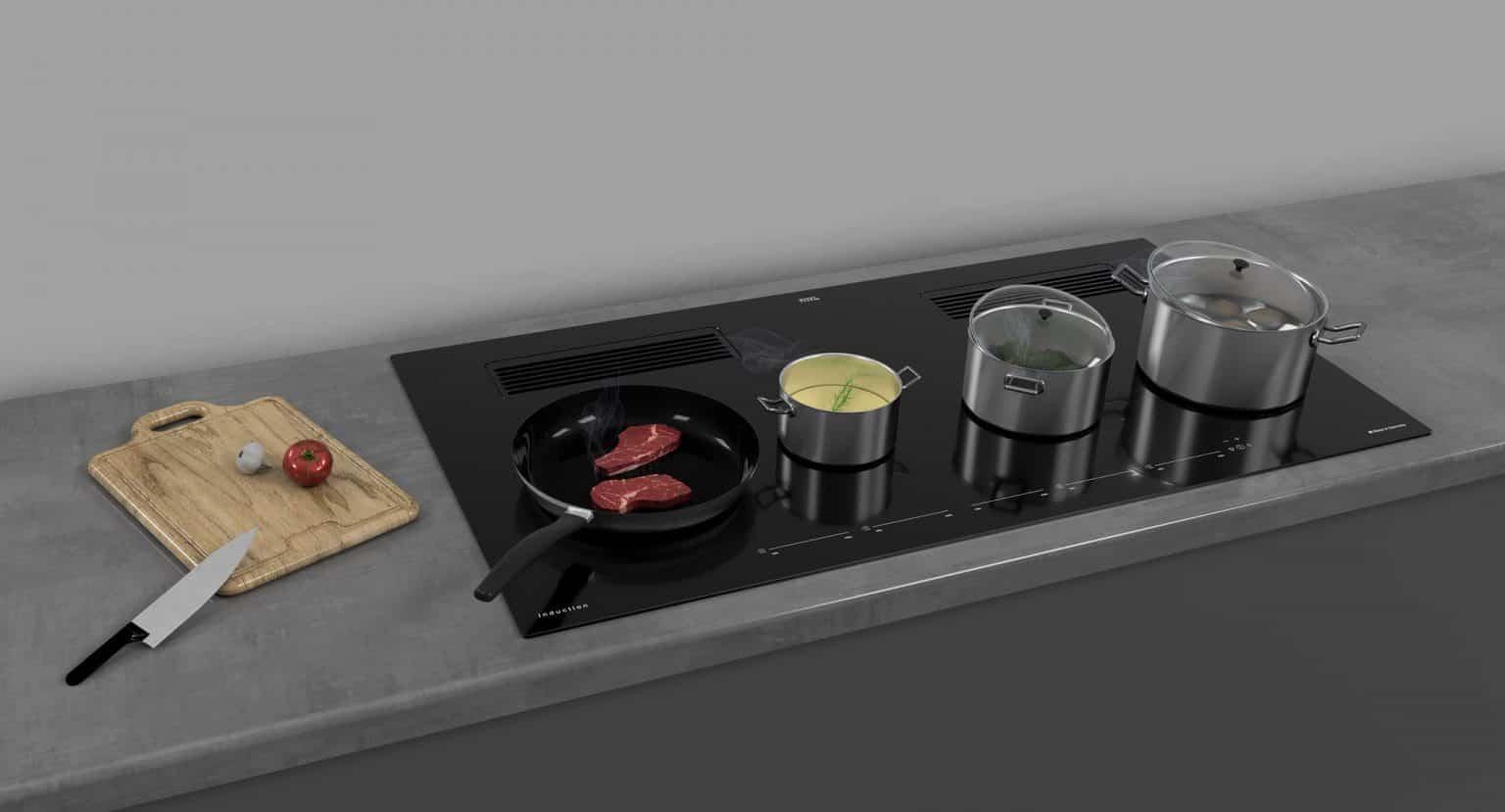 Airo design inductiekookplaat